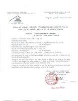 Nghị quyết Hội đồng Quản trị - Công ty Cổ phần Phát triển nhà Bà Rịa-Vũng Tàu
