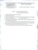 Báo cáo tài chính quý 1 năm 2016 - Công ty cổ phần Xi măng VICEM Hoàng Mai