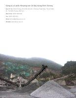 Báo cáo thường niên năm 2014 - Công ty Cổ phần Khoáng sản và Xây dựng Bình Dương