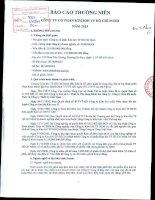 Báo cáo thường niên năm 2013 - Công ty Cổ phần Kim khí Thành phố Hồ Chí Minh