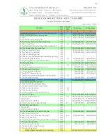 Báo cáo tài chính quý 2 năm 2009 - Công ty Cổ phần Chế biến Gỗ Thuận An