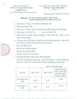 Báo cáo tài chính công ty mẹ quý 1 năm 2016 - Công ty Cổ phần Thủy điện Nậm Mu