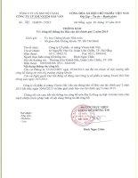 Báo cáo tài chính quý 2 năm 2015 - Công ty Cổ phần Xi măng Vicem Hải Vân