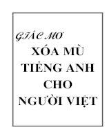 Phương Pháp Học Tiếng Anh cho Người Việt
