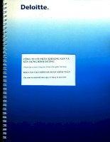 Báo cáo tài chính năm 2014 (đã kiểm toán) - Công ty Cổ phần Khoáng sản và Xây dựng Bình Dương