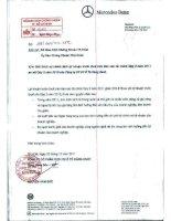 Báo cáo tài chính công ty mẹ quý 3 năm 2011 - Công ty Cổ phần Dịch vụ Ô tô Hàng Xanh