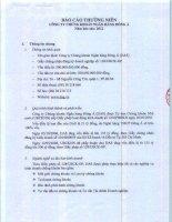 Báo cáo thường niên năm 2012 - Công ty Cổ phần Máy - Thiết bị Dầu khí Đà Nẵng