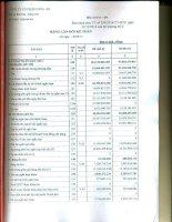 Báo cáo tài chính quý 2 năm 2015 - Công ty Cổ phần Hóa An