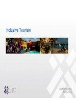 Slide giới thiệu hoạt động du lịch