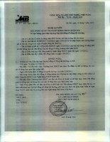 Nghị quyết Hội đồng Quản trị - Ngân hàng Thương mại Cổ phần Quân đội