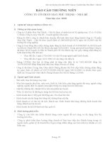 Báo cáo thường niên năm 2008 - Công ty Cổ phần May Phú Thịnh - Nhà Bè