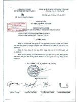 Nghị quyết Hội đồng Quản trị ngày 9-12-2010 - Công ty Cổ phần Phát triển Đô thị Từ Liêm