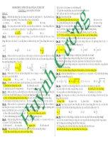Lý thuyết Vật lý _ Tài liệu ôn thi THPT Quốc Gia Vật lý 2016