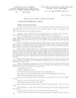 Báo cáo thường niên năm 2007 - Công ty cổ phần Than Núi Béo – Vinacomin