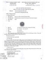 Báo cáo thường niên năm 2013 - Công ty Cổ phần Đầu tư Phát triển Nhà Đà Nẵng