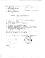 Báo cáo tài chính quý 2 năm 2011 (đã soát xét) - Công ty cổ phần Du lịch Dầu khí Phương Đông