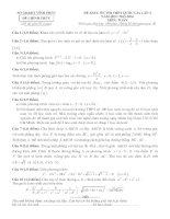 đề thi thử thpt quốc gia môn toán DE249 sở GD   đt vĩnh phúc (l2)