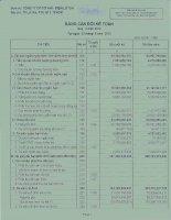 Báo cáo tài chính quý 2 năm 2012 - Công ty Cổ phần Đầu tư Cầu đường CII
