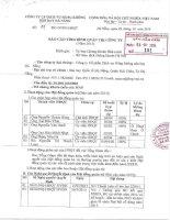Báo cáo tình hình quản trị công ty - Công ty cổ phần Dịch vụ Hàng không Sân bay Đà Nẵng