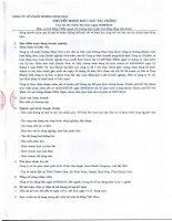 Thuyết minh Báo cáo tài chính quý 3 năm 2010 - Công ty Cổ phần Đường Ninh Hòa