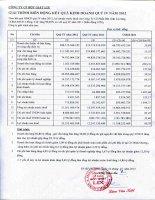 Báo cáo tài chính quý 4 năm 2012 - Công ty Cổ phần Bột giặt Lix