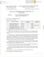 Báo cáo tình hình quản trị công ty - Công ty Cổ phần May Phú Thịnh - Nhà Bè