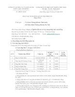Báo cáo tình hình quản trị công ty - Công ty Cổ phần Đầu tư và Xây dựng Thủy lợi Lâm Đồng