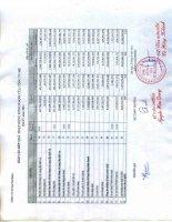 Báo cáo KQKD công ty mẹ quý 4 năm 2011 - Tổng Công ty Gas Petrolimex-CTCP