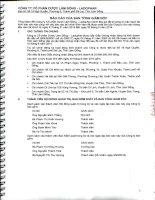 Báo cáo tài chính quý 2 năm 2014 (đã soát xét) - Công ty Cổ phần Dược Lâm Đồng - Ladophar