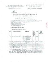 Báo cáo tình hình quản trị công ty - Tổng Công ty cổ phần Bảo hiểm Petrolimex
