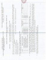 Báo cáo tình hình quản trị công ty - Công ty Cổ phần Công nghiệp - Dịch vụ - Thương Mại Ngọc Nghĩa