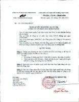 Nghị quyết Hội đồng Quản trị ngày 24-8-2011 - Tổng Công ty cổ phần Bảo hiểm Petrolimex