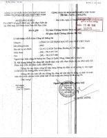 Nghị quyết Hội đồng Quản trị - Công ty cổ phần Bao bì Dầu khí Việt Nam