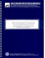Báo cáo tài chính hợp nhất quý 2 năm 2012 (đã soát xét) - Công ty Cổ phần Đầu tư Năm Bảy Bảy