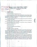 Báo cáo thường niên năm 2013 - Công ty Cổ phần Đá Núi Nhỏ