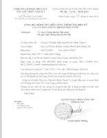 Báo cáo thường niên năm 2013 - Công ty Cổ phần Điện lực Dầu khí Nhơn Trạch 2
