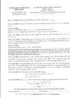 đề thi thử thpt quốc gia môn toán DE262 sở gđ  đt kiên giang