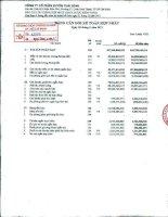 Báo cáo tài chính hợp nhất quý 3 năm 2011 - Công ty Cổ phần Tập đoàn PAN