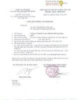 Báo cáo tài chính quý 1 năm 2014 - Công ty cổ phần Du lịch Dầu khí Phương Đông