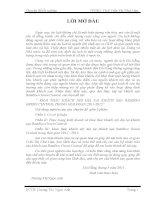 KHAI THÁC KHÁCH NỘI ĐỊA TẠI KHÁCH SẠN BAMBOO GREEN CENTRAL TRONG GIAI ĐOẠN 20112015