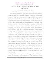 skkn một số BIỆN PHÁP NÂNG CAO CHẤT LƯỢNG DẠY tập đọc CHO học SINH lớp 2