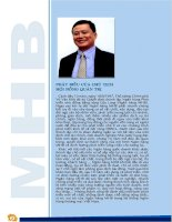 Báo cáo thường niên năm 2007 - Ngân hàng TMCP Phát triển nhà đồng bằng sông Cửu Long