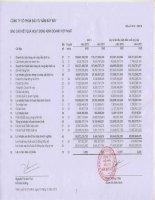 Báo cáo KQKD hợp nhất quý 4 năm 2012 - Công ty Cổ phần Đầu tư Năm Bảy Bảy