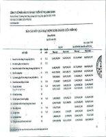 Báo cáo KQKD công ty mẹ quý 3 năm 2011 - Công ty cổ phần Đầu tư và Phát triển Đô thị Long Giang