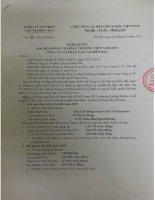 Nghị quyết Đại hội cổ đông thường niên - Công ty Cổ phần Vận tải Biển Bắc