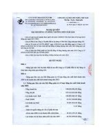 Nghị quyết đại hội cổ đông ngày 22-3-2010 - Công ty cổ phần Đầu tư Xây dựng và Khai thác Công trình Giao thông 584