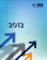 Báo cáo thường niên năm 2012 - Công ty Cổ phần Đầu tư Năm Bảy Bảy