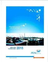 Báo cáo thường niên năm 2015 - Công ty Cổ phần Cảng Đồng Nai
