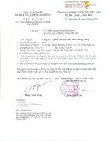 Báo cáo tài chính quý 3 năm 2012 - Công ty cổ phần Du lịch Dầu khí Phương Đông