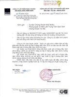 Báo cáo tài chính hợp nhất quý 2 năm 2014 (đã soát xét) - Công ty Cổ phần Kinh doanh Khí hóa lỏng Miền Nam